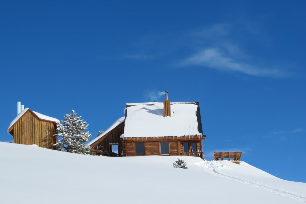 Jackal Hut is one of many 10th Mountain Division huts to choose from