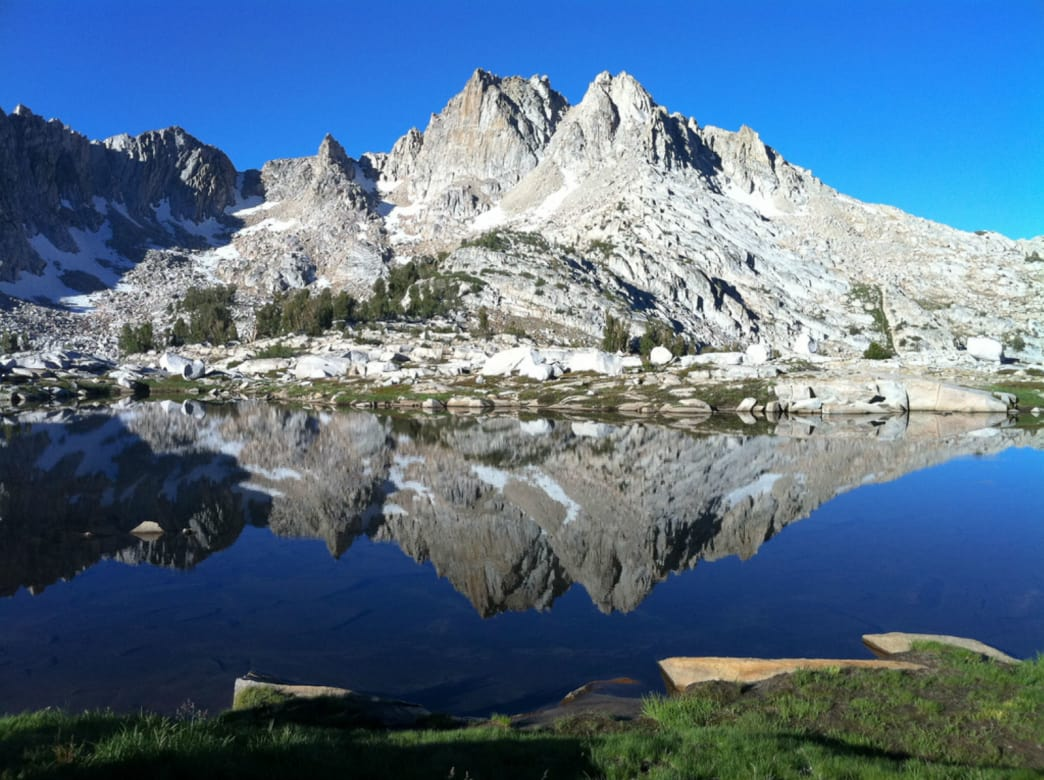Part of the stunning John Muir Trail.