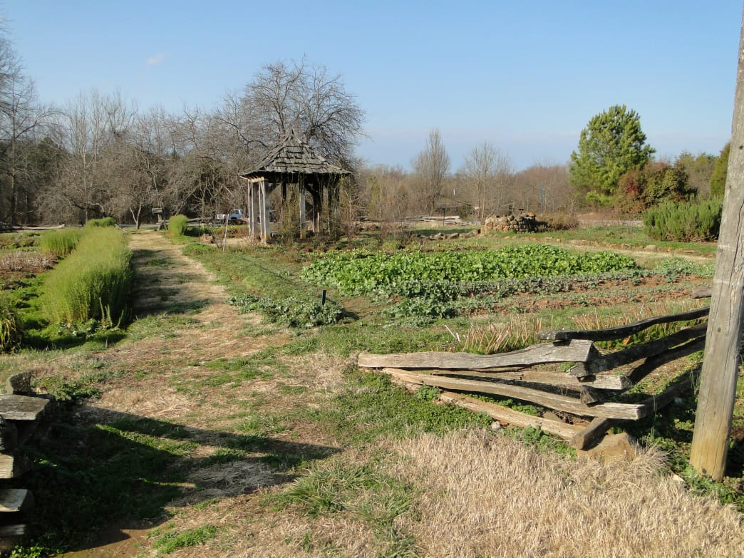 Remains of Bethabara, the first Moravian settlement, are now part of Historic Bethabara Park in nearby Winston-Salem.