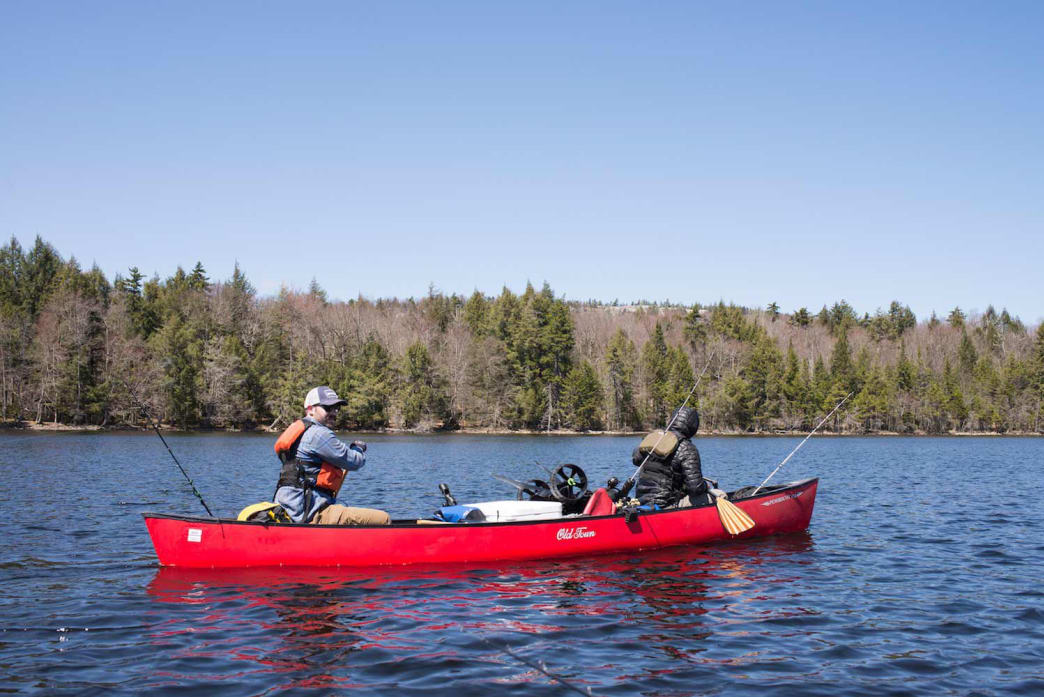 Paddling in Upstate New York, section one of the Northern Forest Canoe Trail.