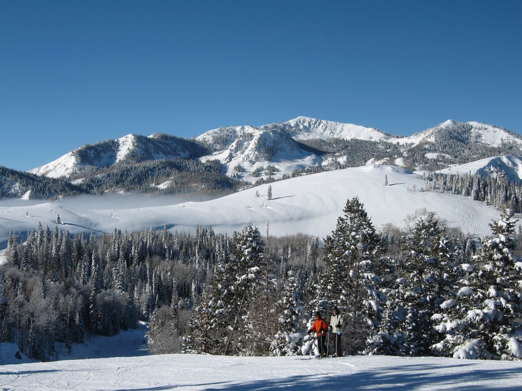 Take the Jordanelle gondola and ski at Deer Valley.
