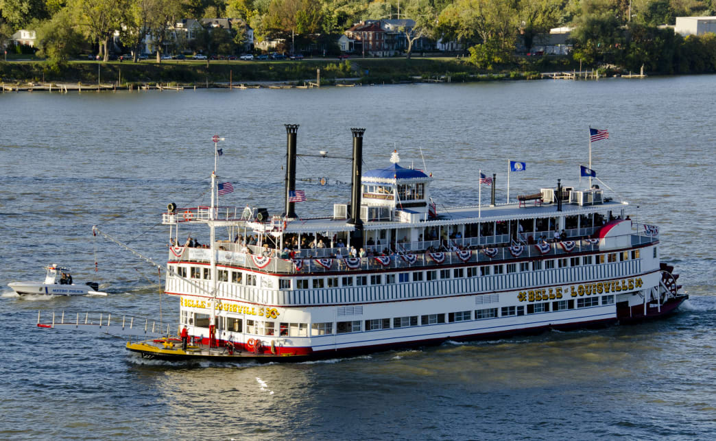 The Belle cruises celebrate the history of steamboat travel along the river.