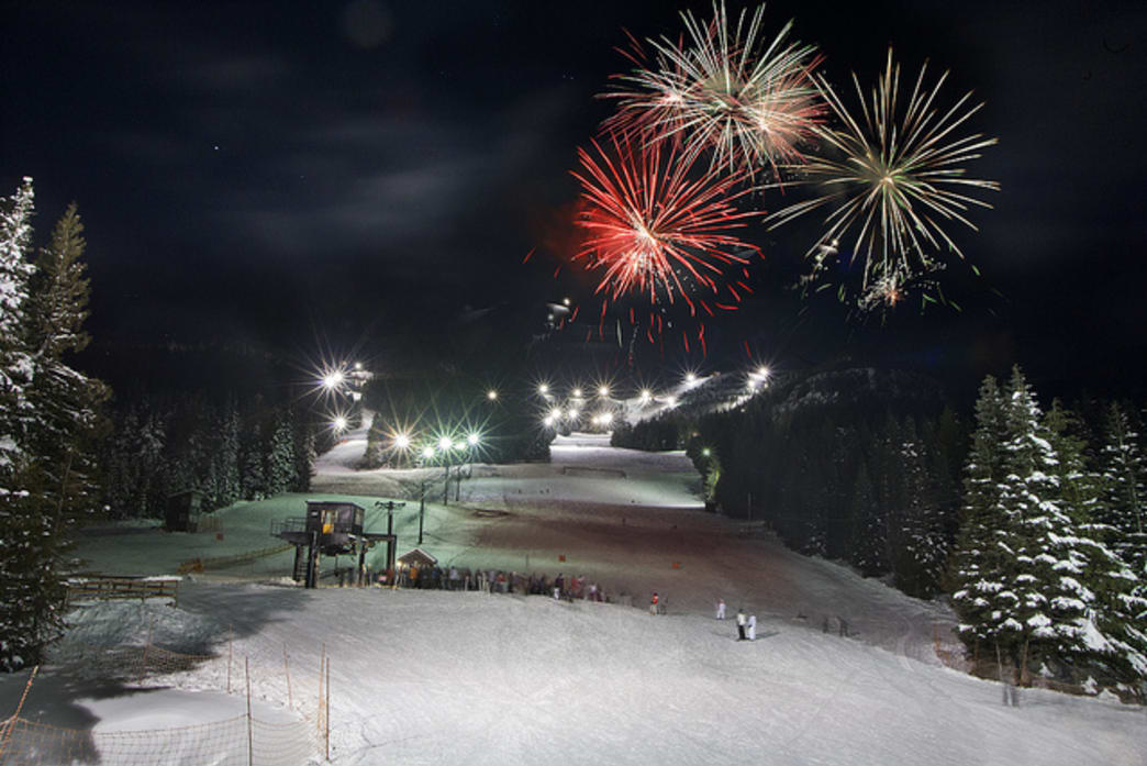 Mt. Hood Skibowl is a popular destination for both cosmic tubing and night skiing.