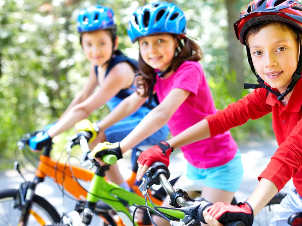 Get ready to say goodbye to three wheels with these tips on teaching your kids how to ride a bike.
