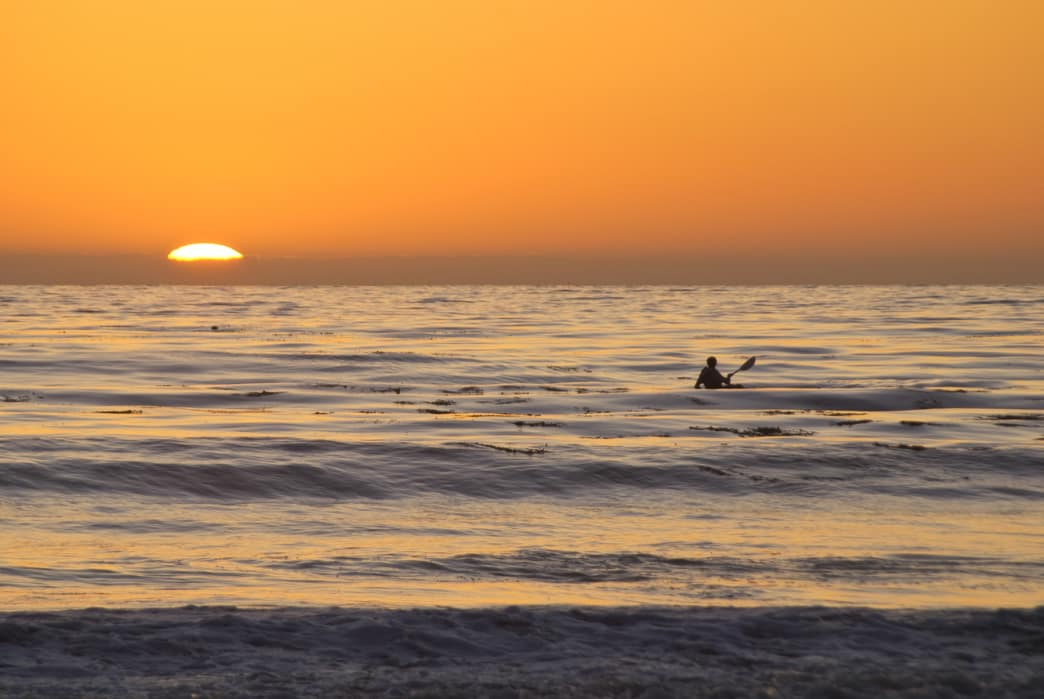 The best place to see a sunset may be from your kayak.