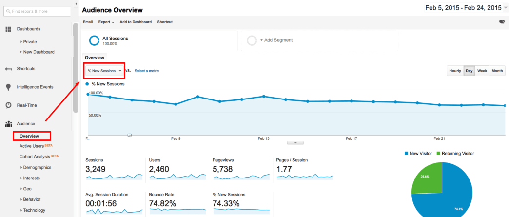new-visitors-report-google-analytics