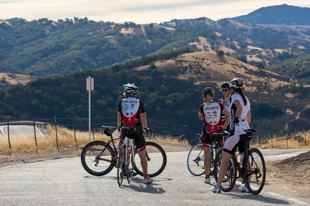 You'll likely run into other riders in the small town of Sunol, a popular pit stop.