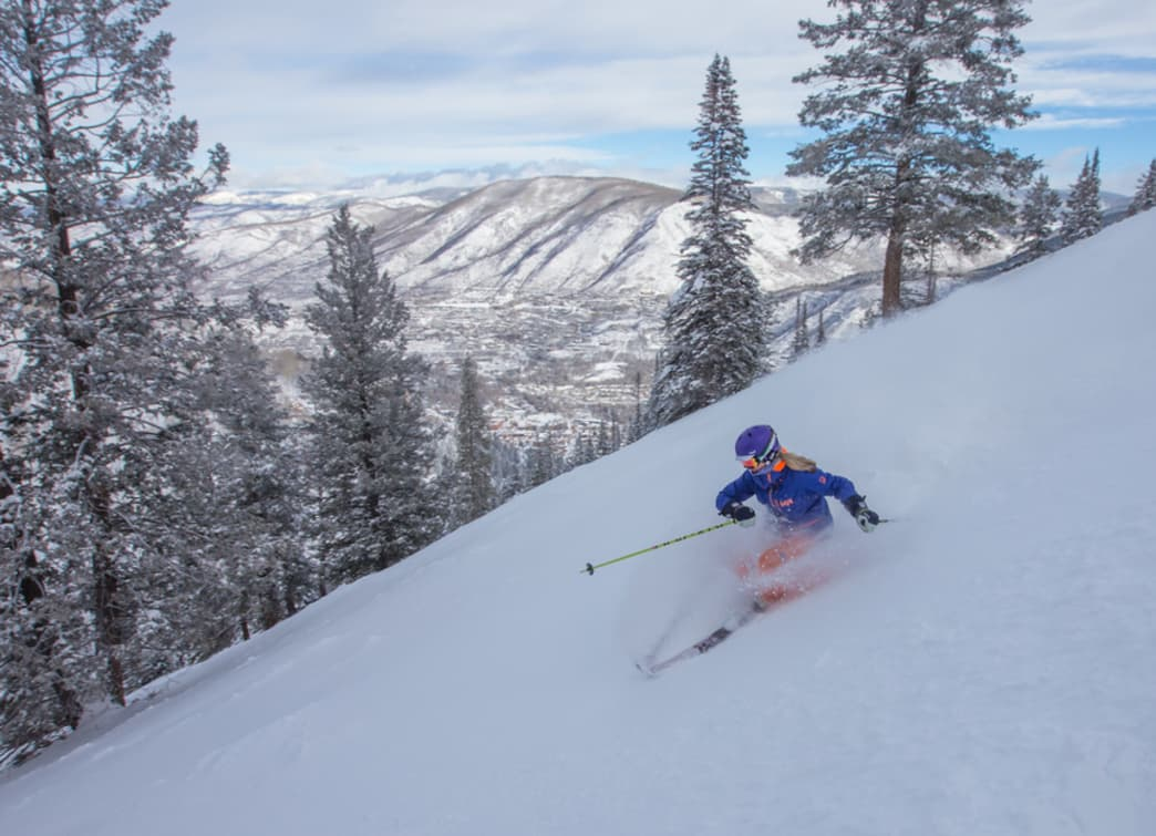 The aptly named Longface offers one of the longest runs on a powder day, with fresh turns from top to bottom.