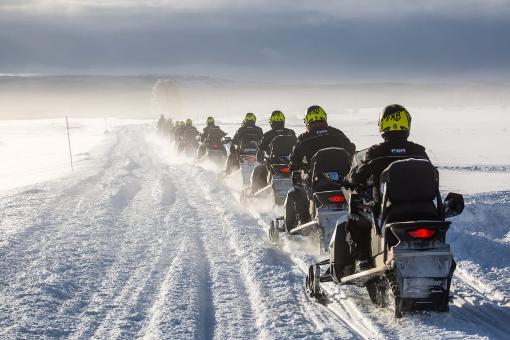 The 7 Best Snowmobile Trails In The West Yellowstone Area