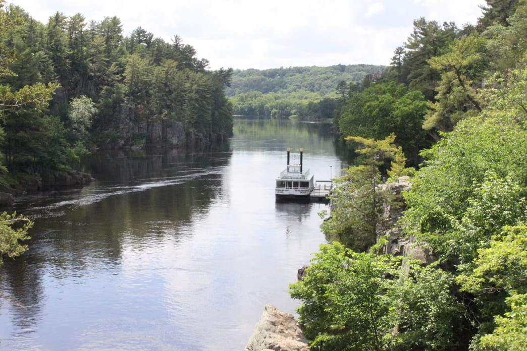 "The St. Croix National Scenic Riverway includes 181 miles that are classified as ""scenic,"" meaning the land on either side of the river is largely wild and undeveloped."