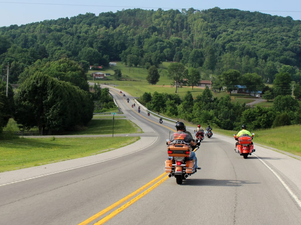 Cookeville, Tennessee, is situated on the western edge of the Cumberland Plateau, a scenic location that has helped it become a huge attraction for motorcyclists.