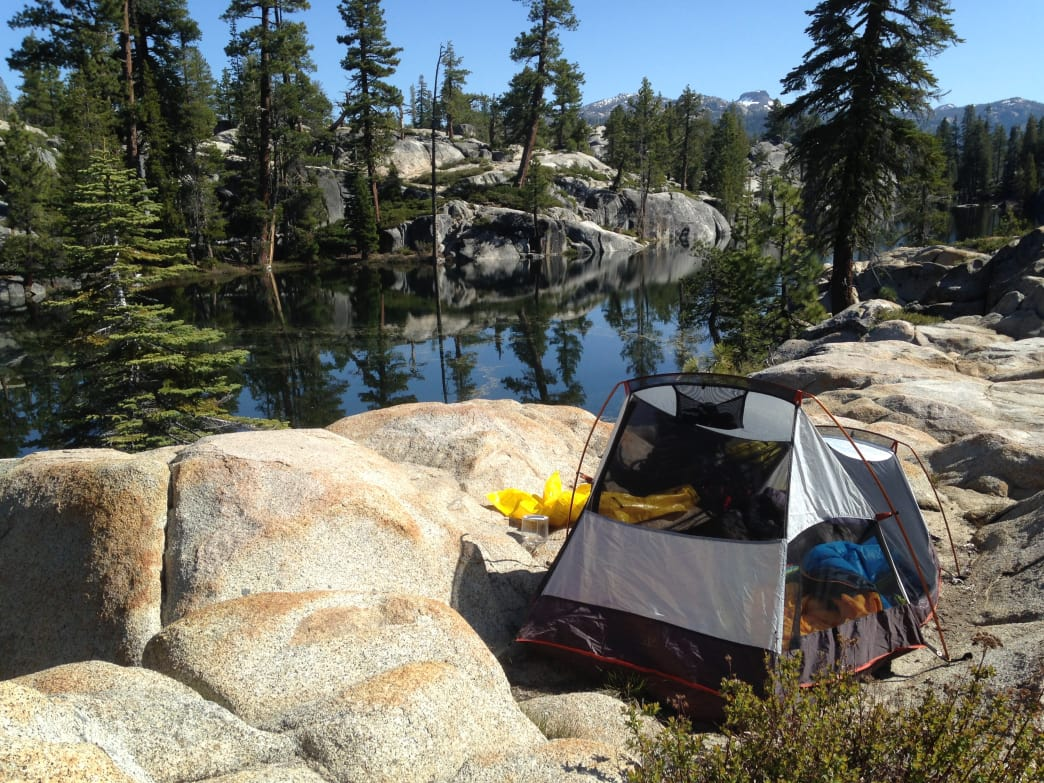 NorCal backpacking Carson-Iceberg Wilderness