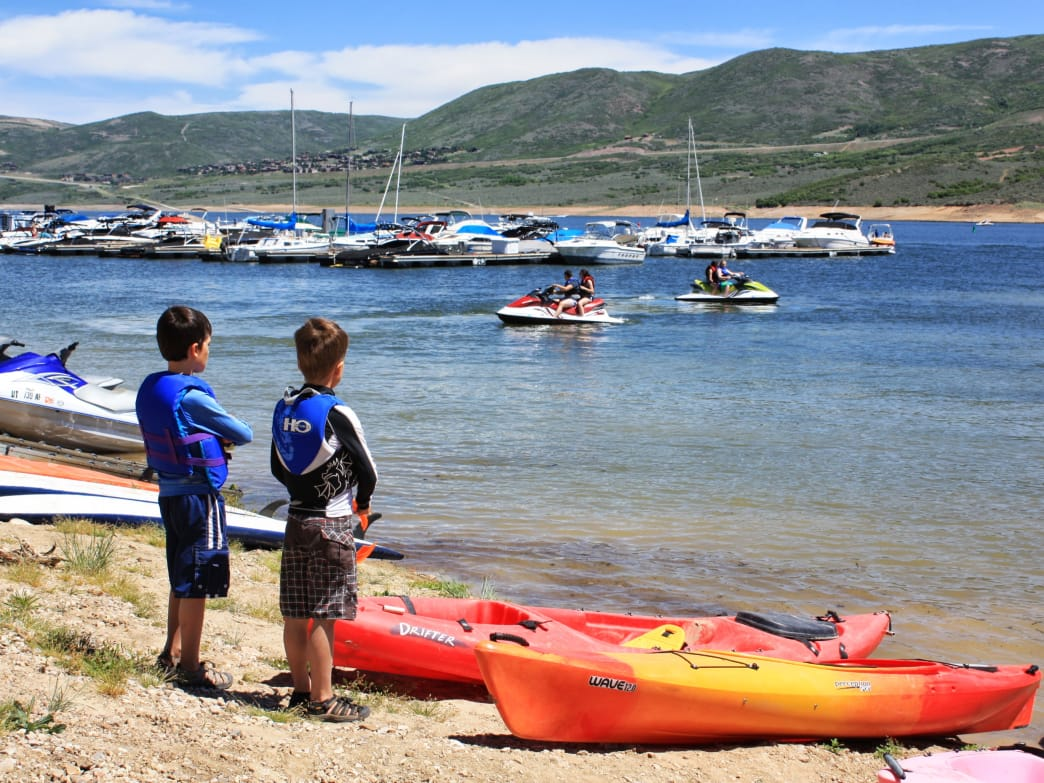 You'll find a wide variety of kids activities in Heber Valley in both the summer and winter.