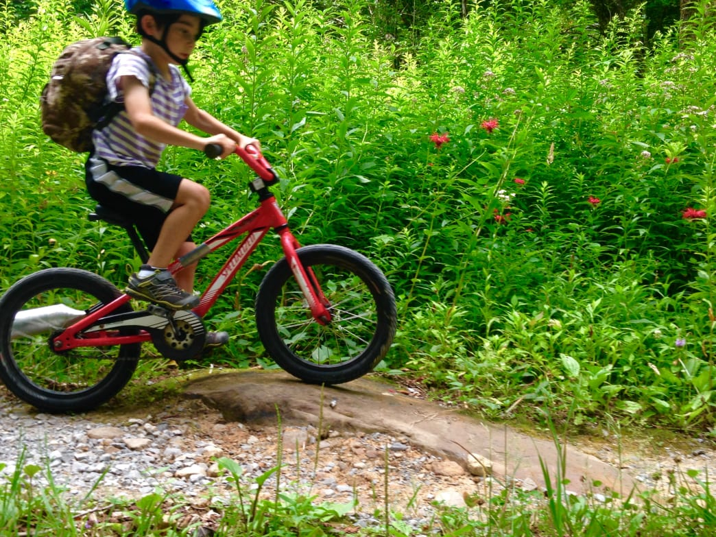Taking bikes gives your kids something to do around the campground, and is an easier way to get around if your kids get tired from walking.