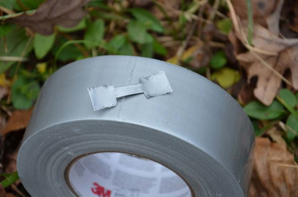 duct tape sutures