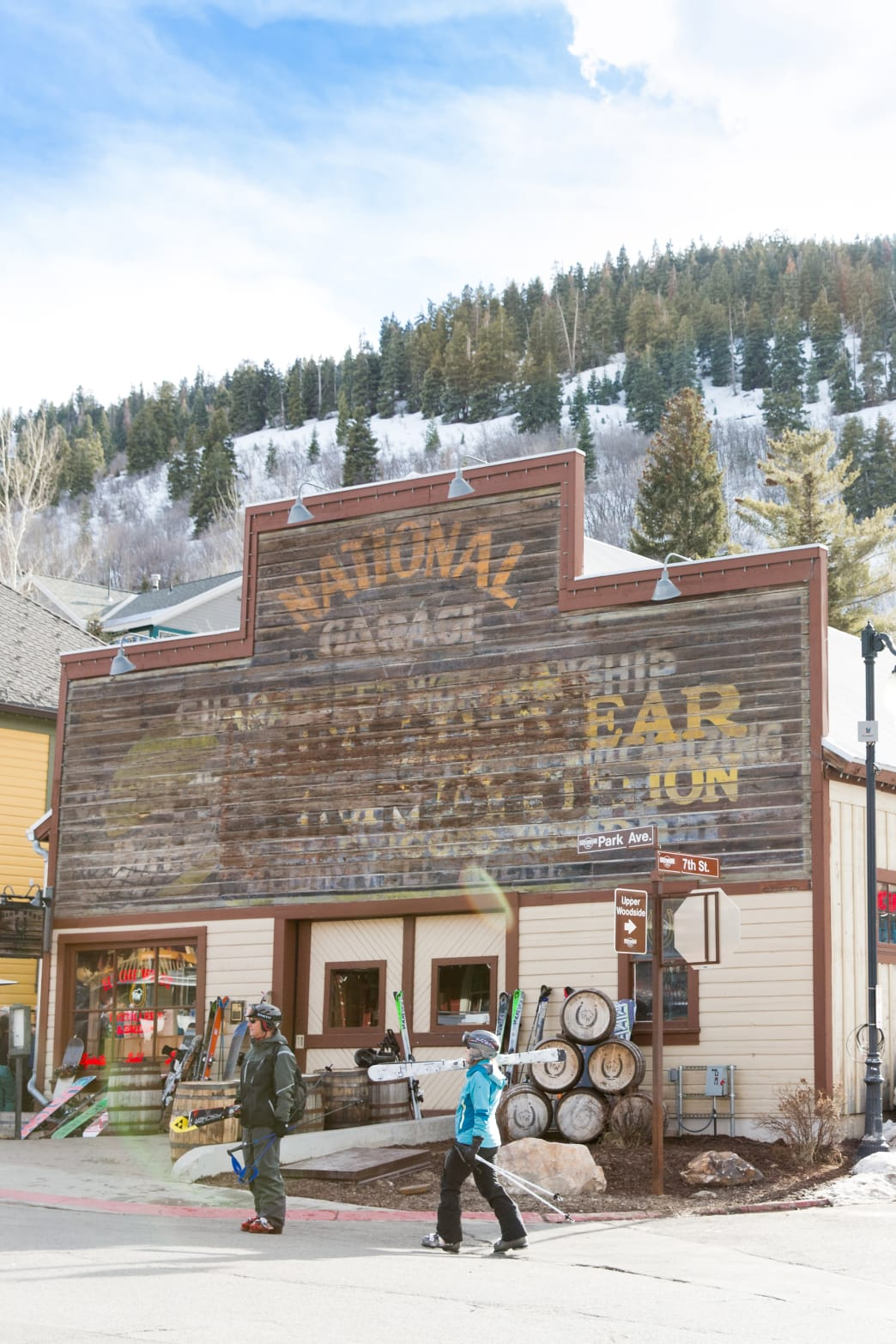 The High West Distillery & Saloon.