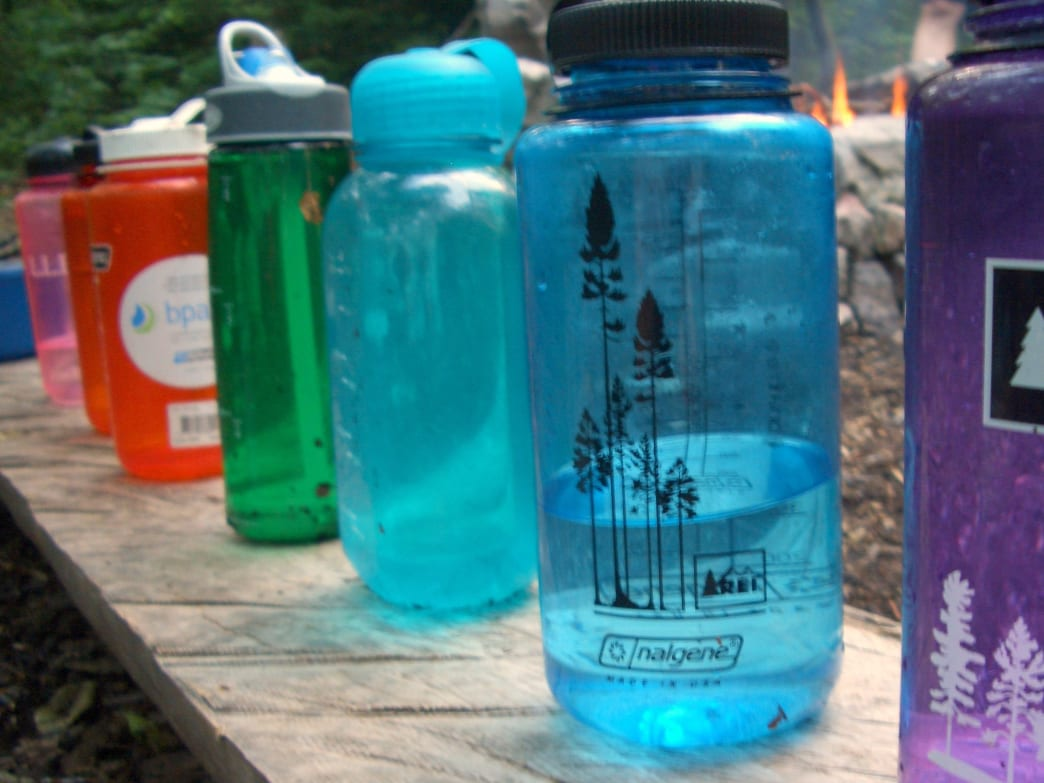 Water bottles keep you hydrated in winter