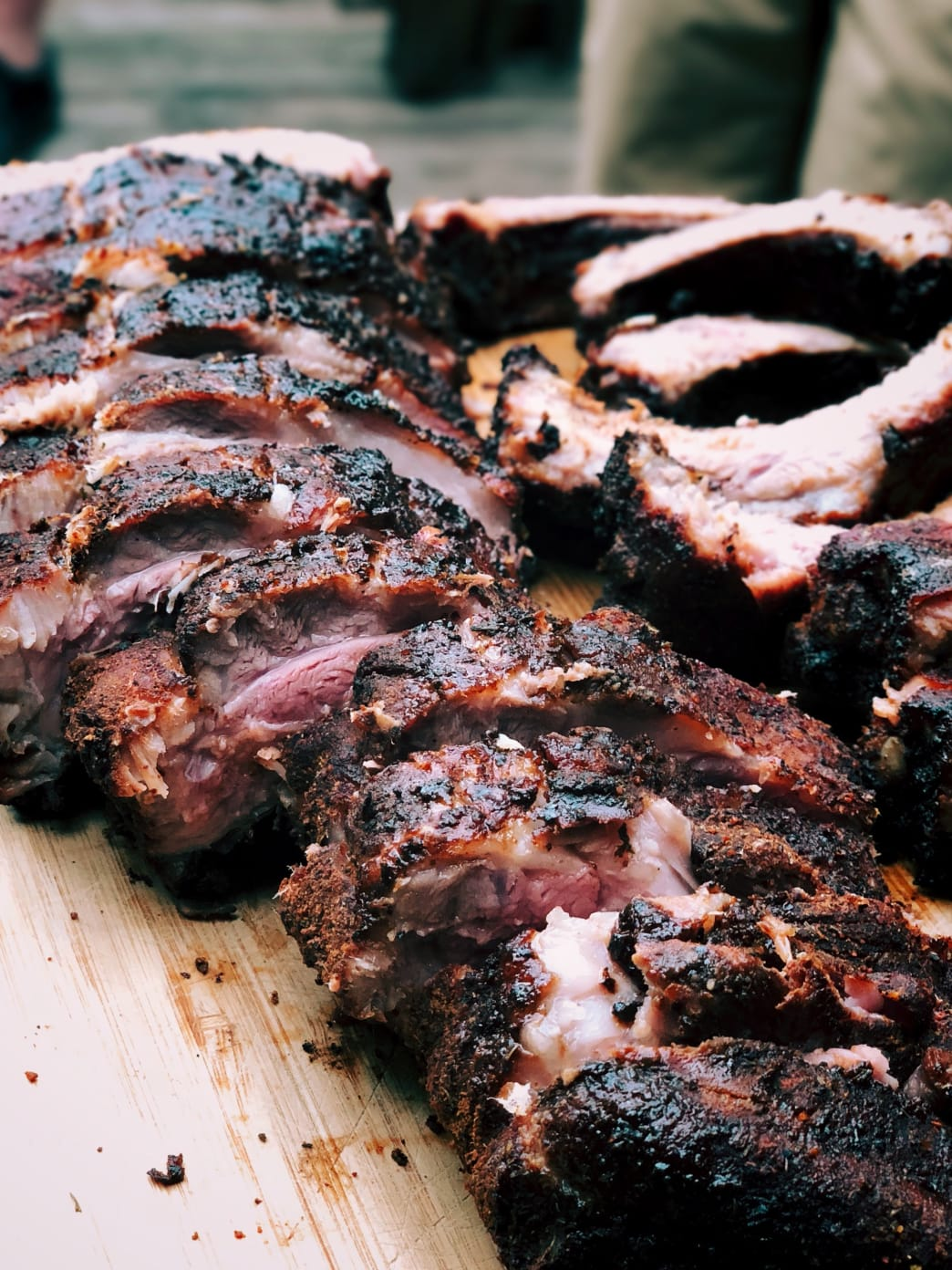 One of the biggest attractions in Mesquite: Texas BBQ