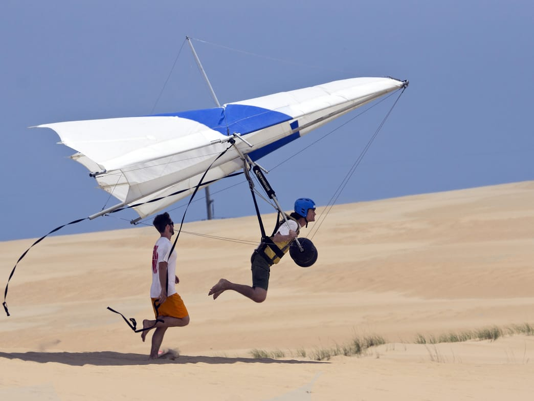 There's plenty of high-flying fun to be had in the Outer Banks of North Carolina.