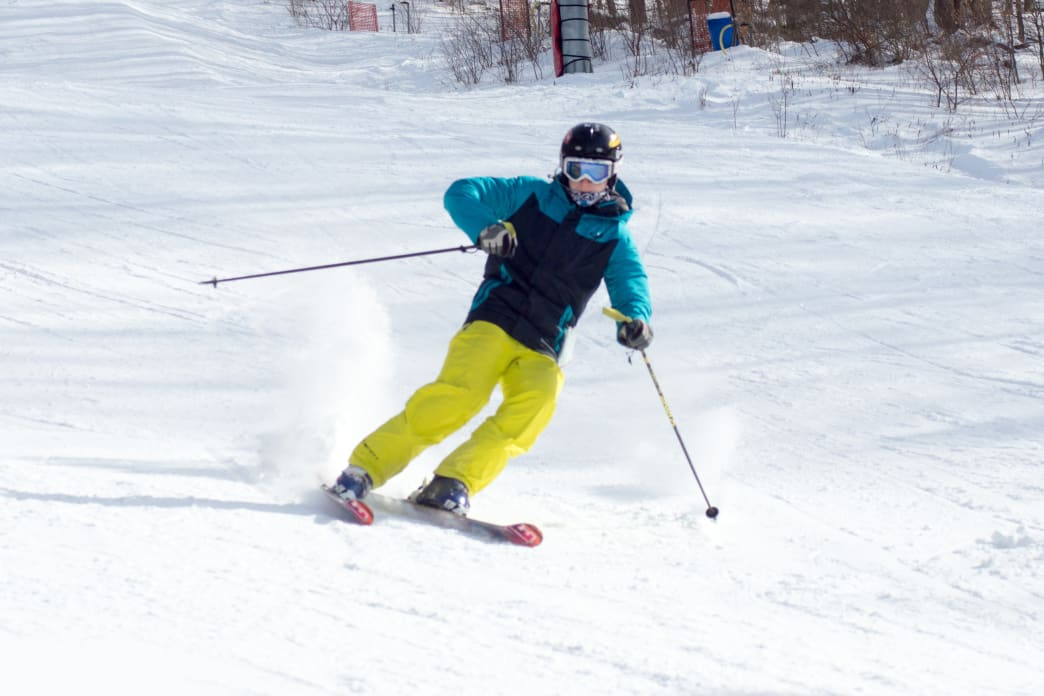 Skiing in the Pocono Mountains