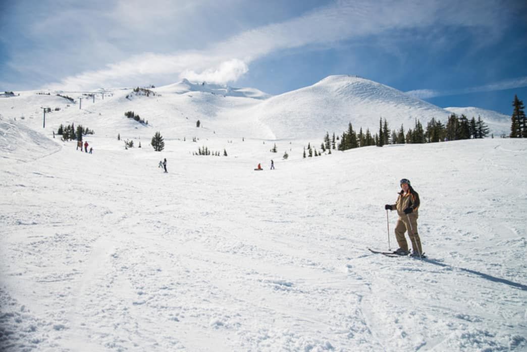 Mount Bachelor offers some of the best powder in Oregon.