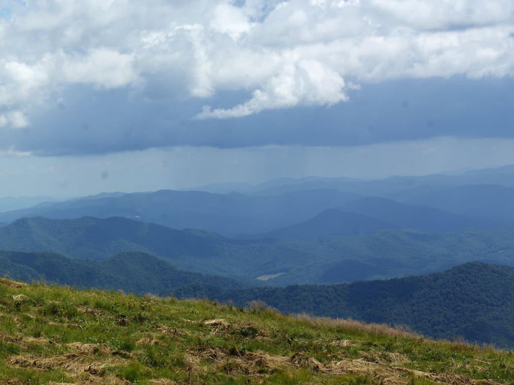 Roan Mountain is a tiny community located in the heart of Cherokee National Forest.