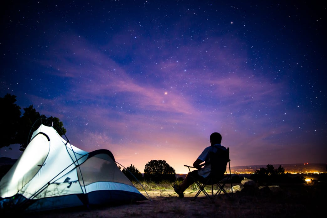 Chairs are essential for sitting around the campfire after a long day.