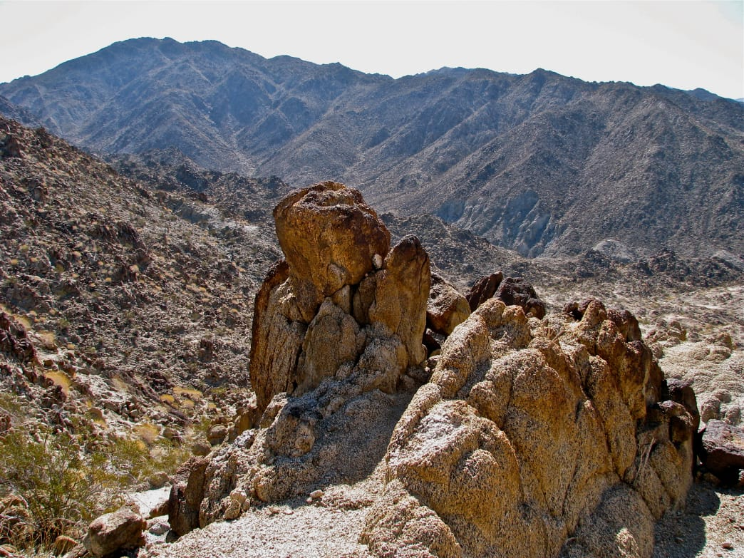 Eisenhower Mountain is a strenuous climb, but not as long as Cactus to Clouds.