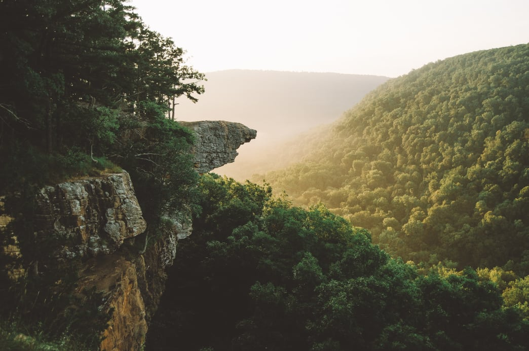 Whitaker Point, Hawksbill Crag. Jeff Rose