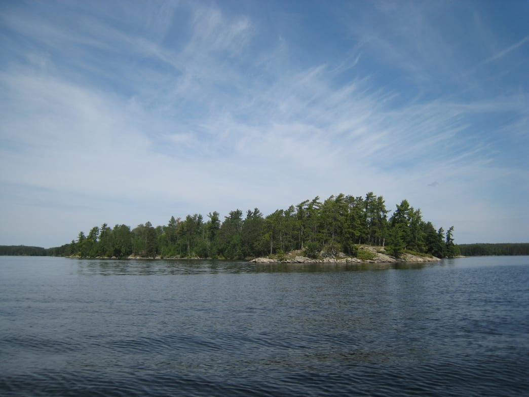 Kabetogama Lake, Voyageurs National Park, Minnesota.
