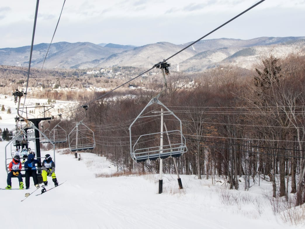 Killington Ski Resort is known for its early opening, sometimes as early as October 1, and late closing dates.