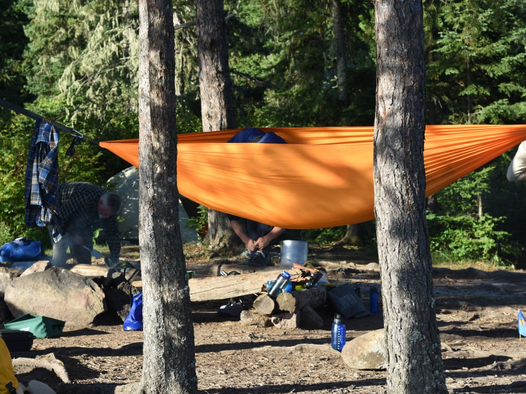 An introduction to hammock camping