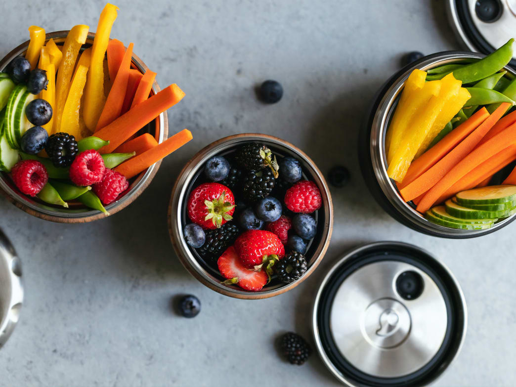 You can still stick to a healthy diet even if you are movin' and groovin' all day long.