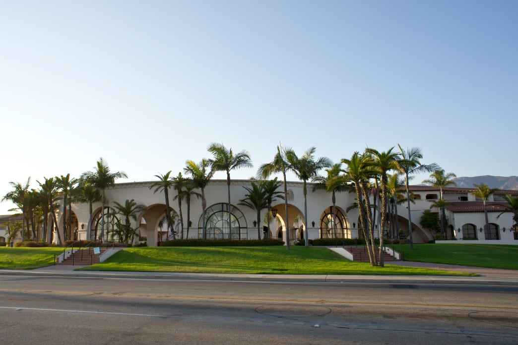 The Fess Parker, a DoubleTree by Hilton Resort, features the full resort experience just across from East Beach.     APA Orange