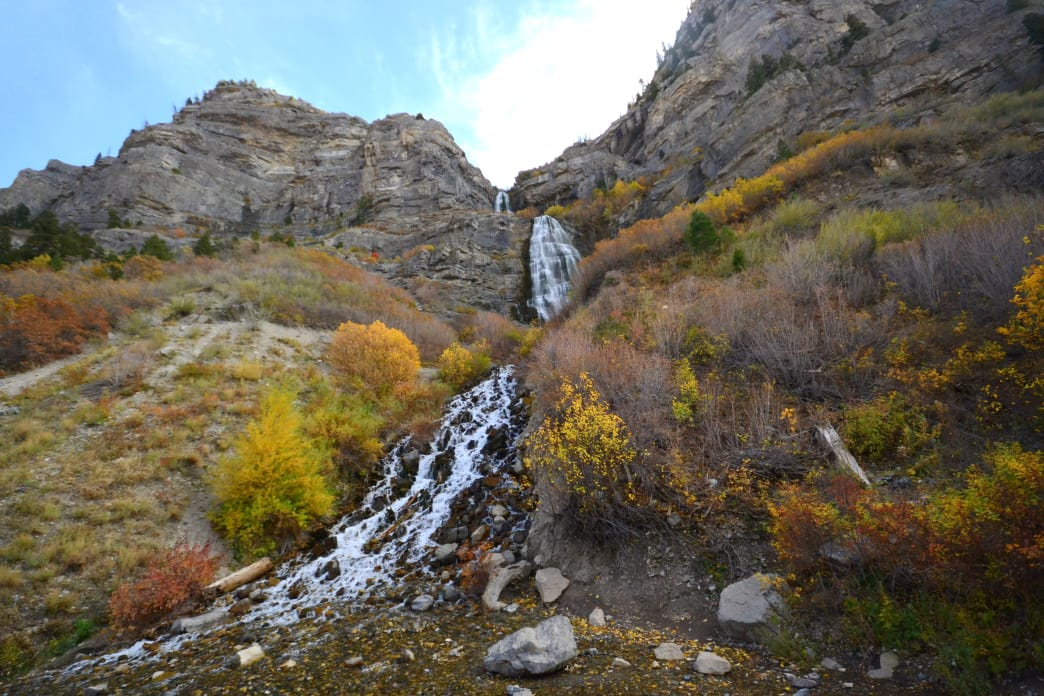 Bridal Veil Falls is a popular hike that the whole family can do.