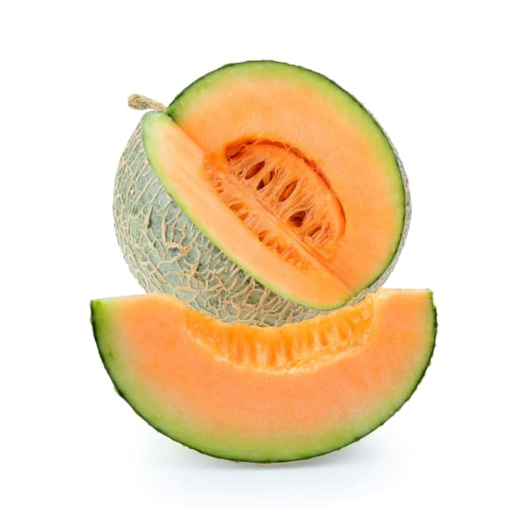 Photo credit: Better Nutrition A cut open cantaloupe