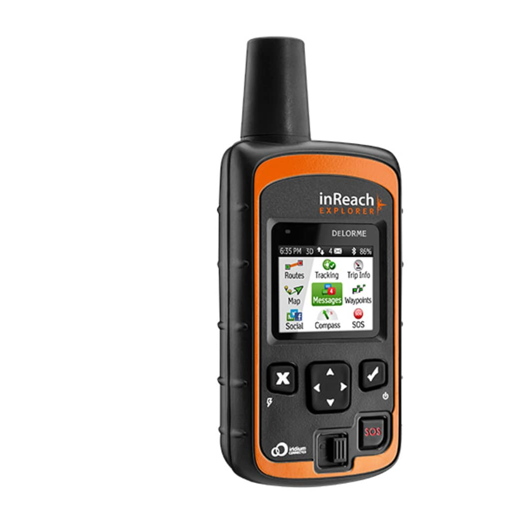 The DeLorme inReach is an amazing little device worth having when you are far from home.