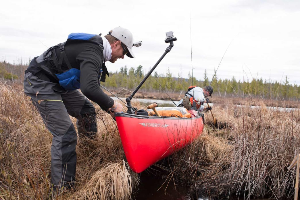 You can add as much suffering as you want to your dream canoe trip.
