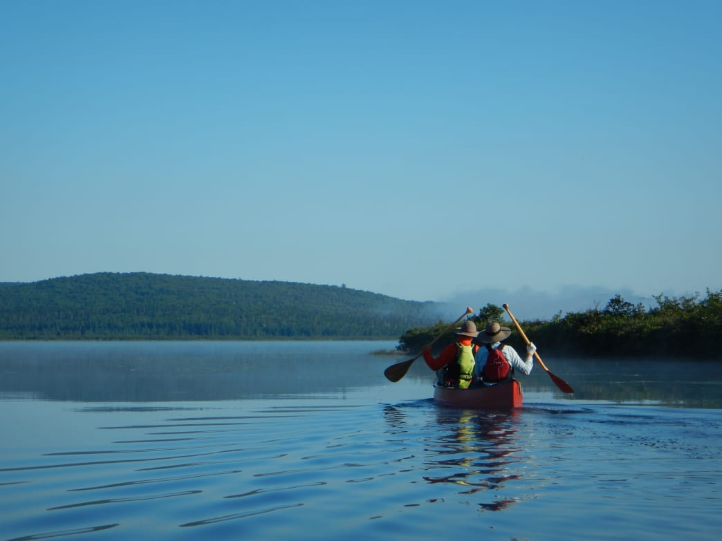 Through-paddling the Northern Forest Canoe Trail.