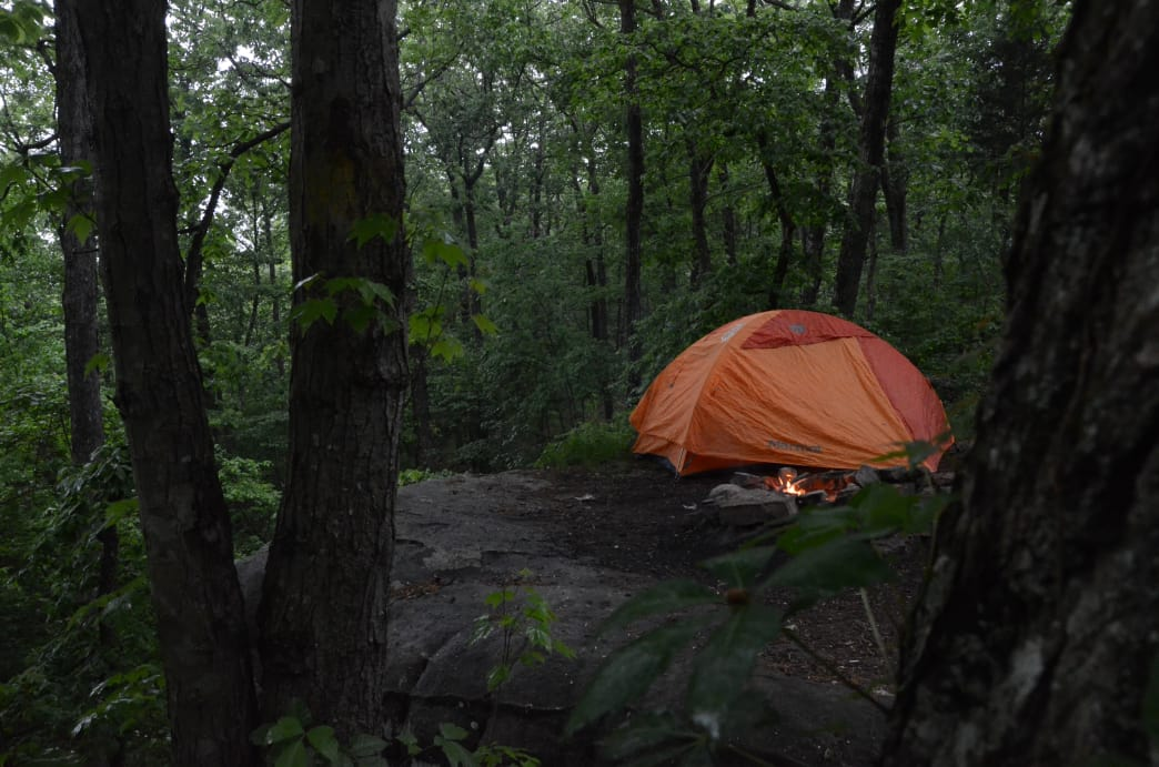 Primitive camping at it's finest.