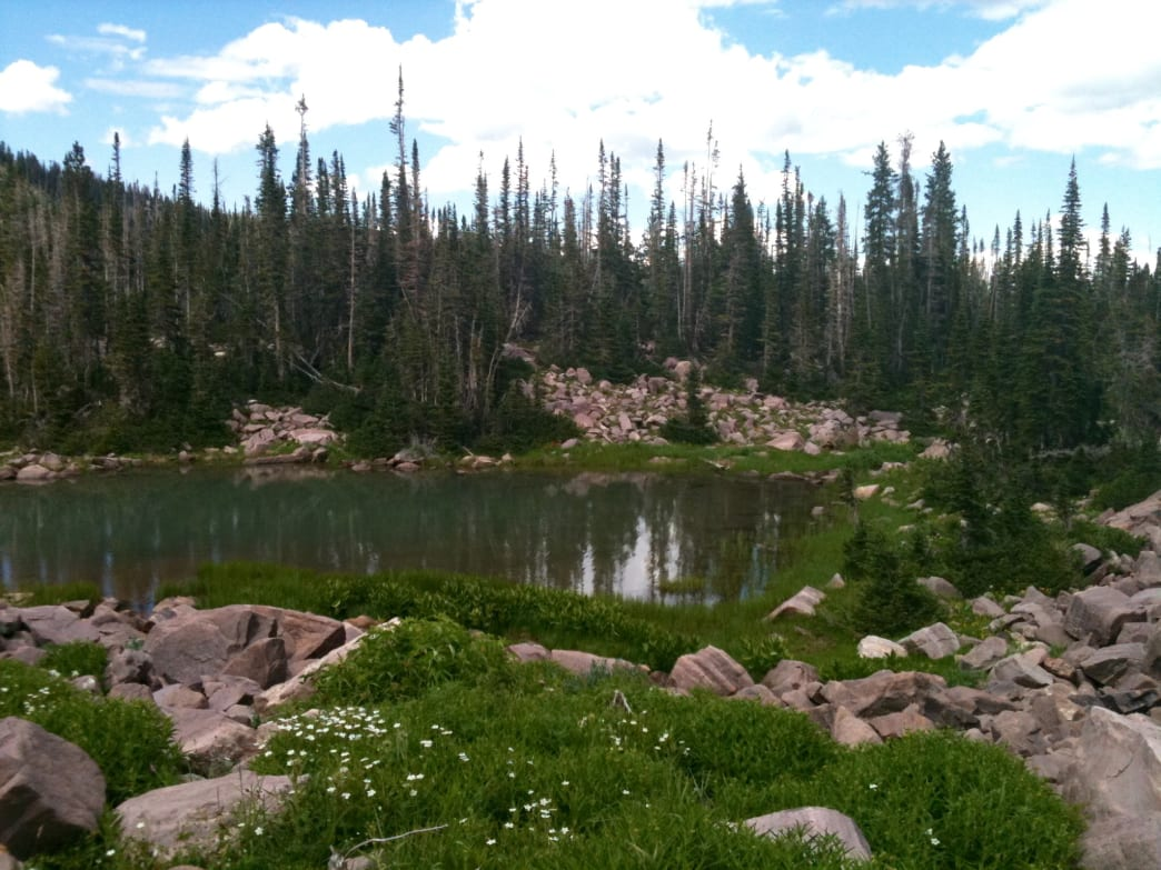 A perfect Uinta lake that lies far off the beaten path.