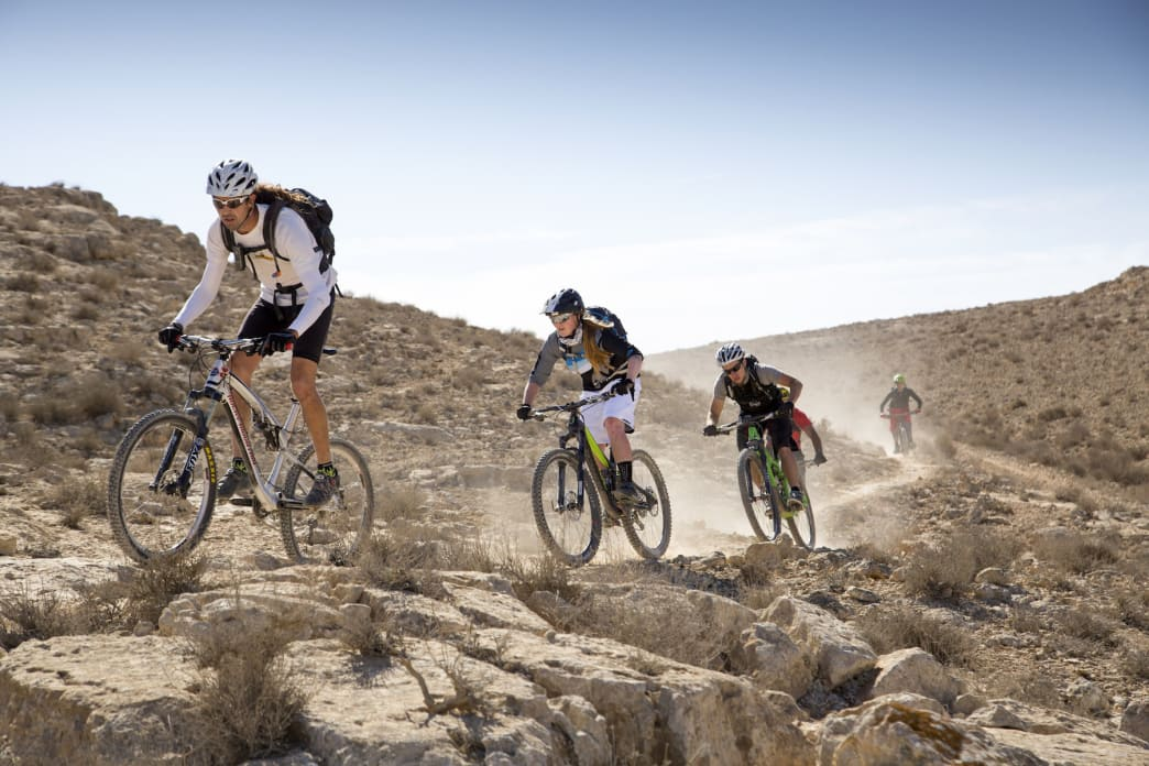 Mountain bikers will find a ton of two-wheeled fun in Israel.