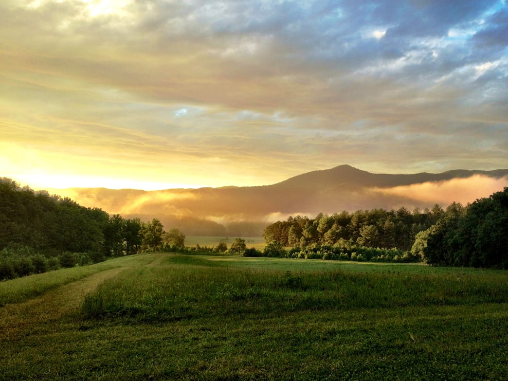 It's easy to see why Cades Cove is one of the most popular spots in Great Smoky Mountains National Park.