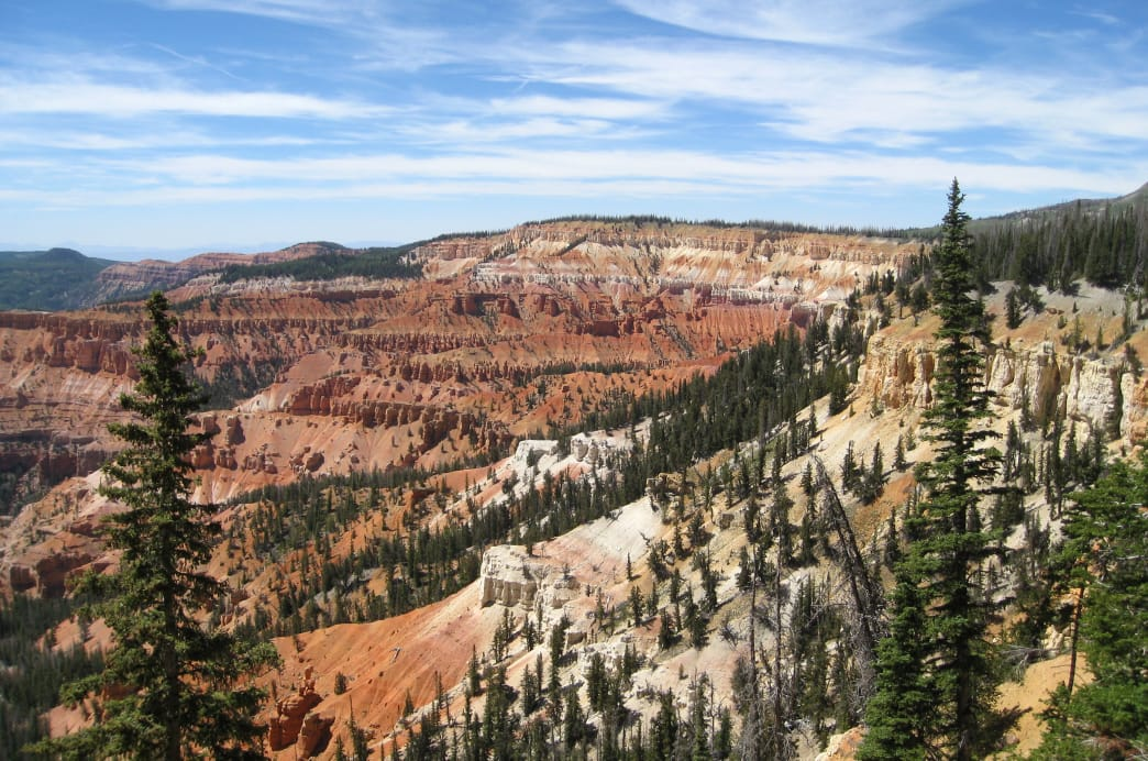 Cedar Breaks National Monument is similar to Bryce Canyon.
