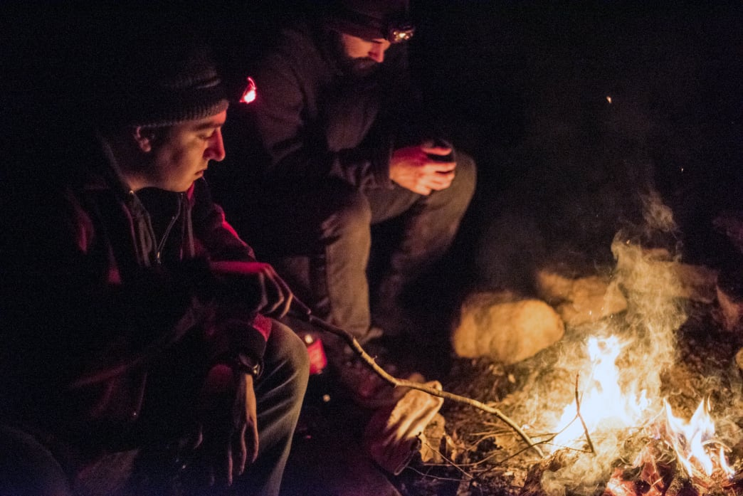 Backpacking skills - learn to build a fire