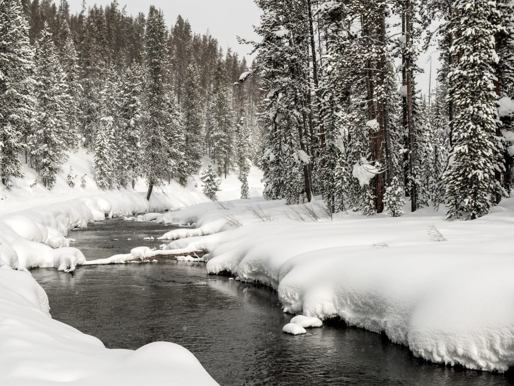 West Yellowstone, Montana, is transformed into a winter wonderland, with lots of outdoor adventures available for those who love the snow.