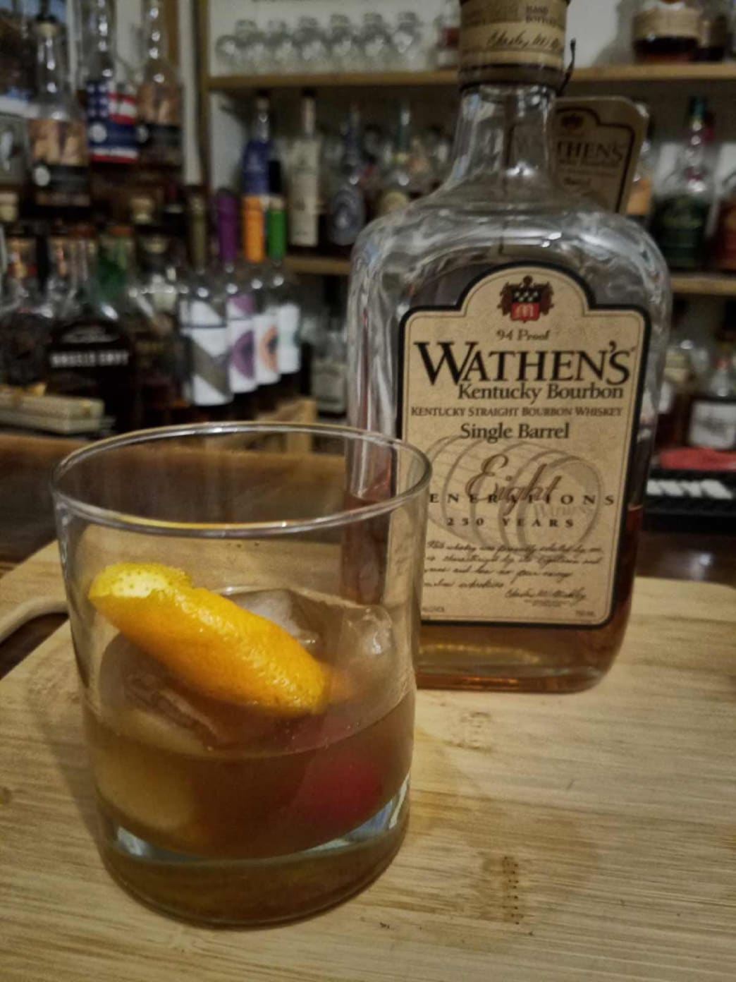 Deer Camp Old Fashioned.