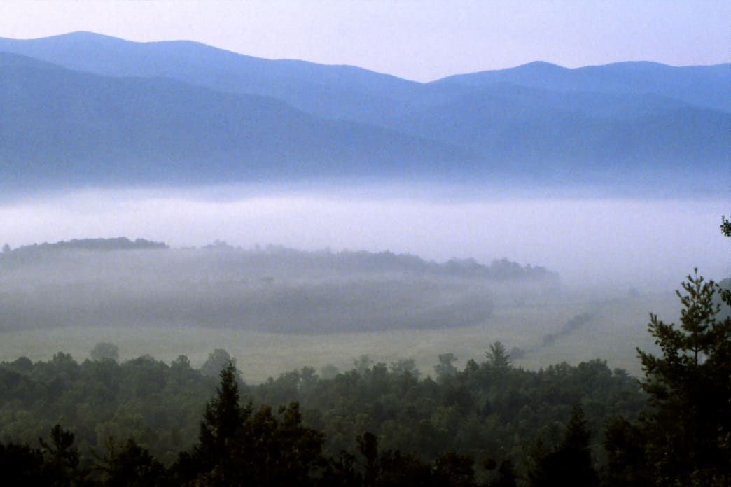 The morning at Cades Cove.