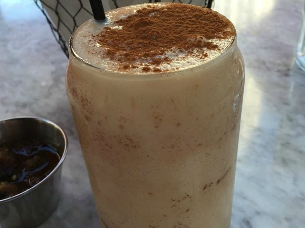 Tierra Mia Cafe makes a mean Horchata Latte