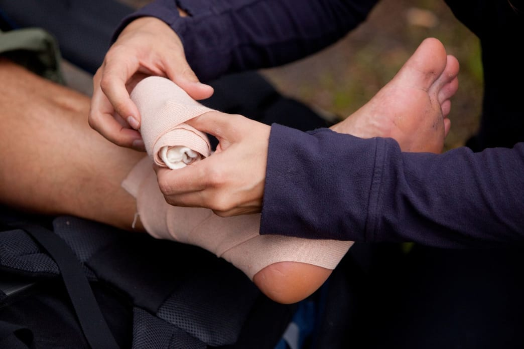 Don't forget to check circulation signs after immobilizing a limb. You don't want to make matters worse.